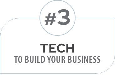 #3 Tech to build your business