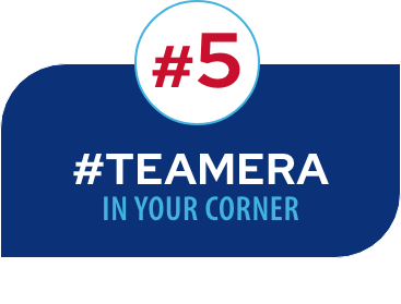 #5 #TEAMERA in your corner